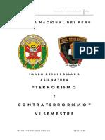 Terrorismo y Contraterrorismo