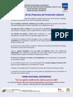 PRESENTACION DE PROYECTOS ONA