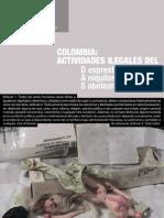 Colombia. Actividades Ilegales Del DAS. Informe de la FIDH