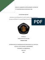 internsip report in CSR division PT.Telkom Malang