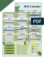 Babar 2016 Calendar