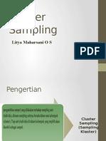 Presentasi Cluster Sampling