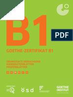Ubungssatz_B1 GOETHE-ZERTIFIKAT B1
