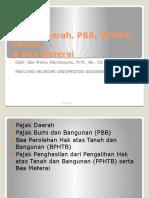 Pajak Daerah, PBB, BPHTB, PPhTB, Bea Meterai Ver 2