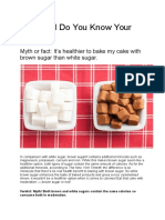 How Well Do You Know Your Sugar.docx