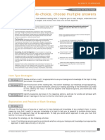 9 Multiple Choice Multiple PTEA Strategies