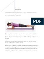 4 Minutes Plank