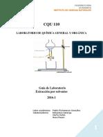 Guia de Laboratorio 5 Extracción Por Solventes 2016-1