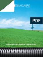 HDPE Corrugated Sub Soil Drainage Pipe