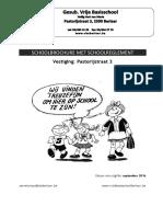 Schoolbrochure 2016-2017 Pastorijstraat