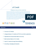 T3TLC - Letters of Credit
