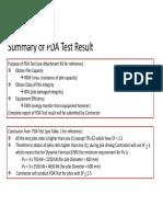 PDA Test Result