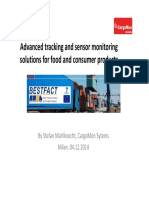 Advanced Tracking and Sensor Monitoring Solutions for Food and Consumer Products-2014