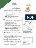 A4 Sheet About RevisionTechnique