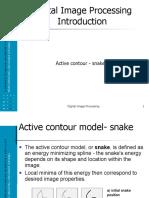 Active Contour - Snake