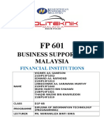 FP 601 Financial Institutions
