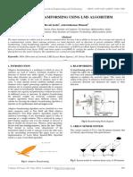 Adaptive Beamforming Using Lms Algorithm