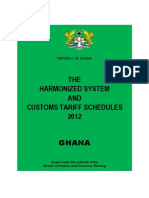 Ghana Customs HS Code