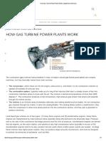 How Gas Turbine Power Pl..