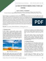 Door Opening Analysis of Wind Turbine Steel Tubular Tower