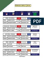 medjuopstinska liga - grupa b - delegiranje - 4  kolo