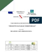 Relazione Carta-idrogeologica Picentini Dic-08
