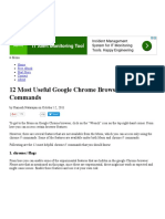 12 Most Useful Google Chrome Browser Chrome___ Commands