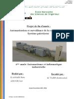 Rapport Mini Projet _ Systéme Palettiseur