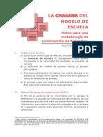 CHAKANA-notas de Metodología Participativa de Construcción Del PEI