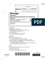 January 2015 (IAL) QP - Unit 4 Edexcel Biology