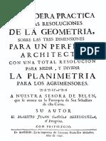 1747 Garcia Berruguilla Juan Verdadera Practica Geometria
