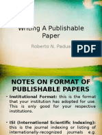 Writing A Publishable Paper-campus.ppt