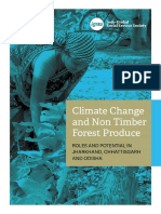 Non timber forest produce- climate change impact