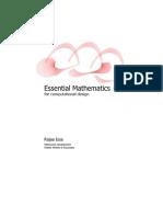Essential Mathematics for computational design.pdf