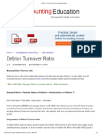 Debtor Turnover Ratio _ Accounting Education
