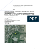 Studiu de Fezabilitate Parc Solar Fotovoltaic, Comuna Avram Iancu, Judetul Bihor