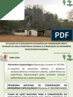 Aplicação do Planejamento Sistemático da Conservação para a Definição de Áreas Prioritárias Voltadas à Conservação do Patrimônio Espeleológico Nacional
