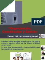 Organizacion y Constitucion Mype