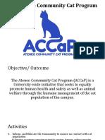 The ACCaP Presentation 2016