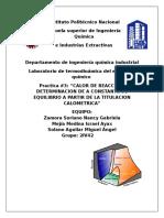 Practica 3 Termodinamica del equilibrio quimico ESIQIE IPN