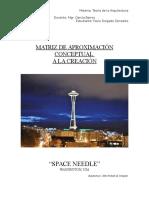 Matriz de Analisis Conceptual Space Needle