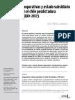 Cooperativismo y Estado Subdsidario en Chile