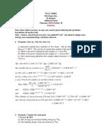 Engr-2500u Midterm Solutions