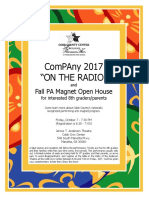8th grade open house flier docx
