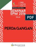 Perdagangan July Seminar