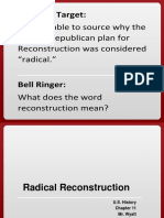 ch  11 radical reconstruction