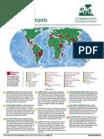 biodiversite hotspots