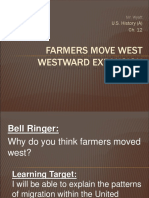 ch  19 sec  5 farmers move west
