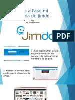 Página web en Jimdo