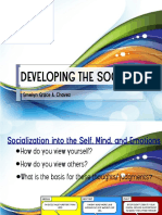 Developing the Social Self